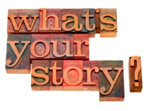whats your story text